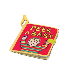 JellyCat Peek a Baby Activity Book