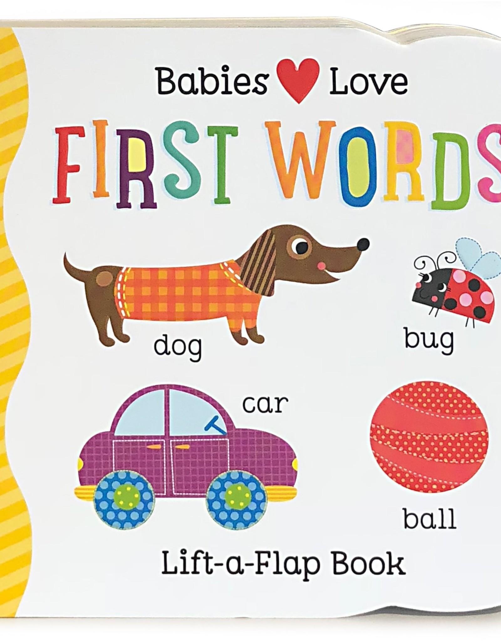 Cottage Door Press First Words Book