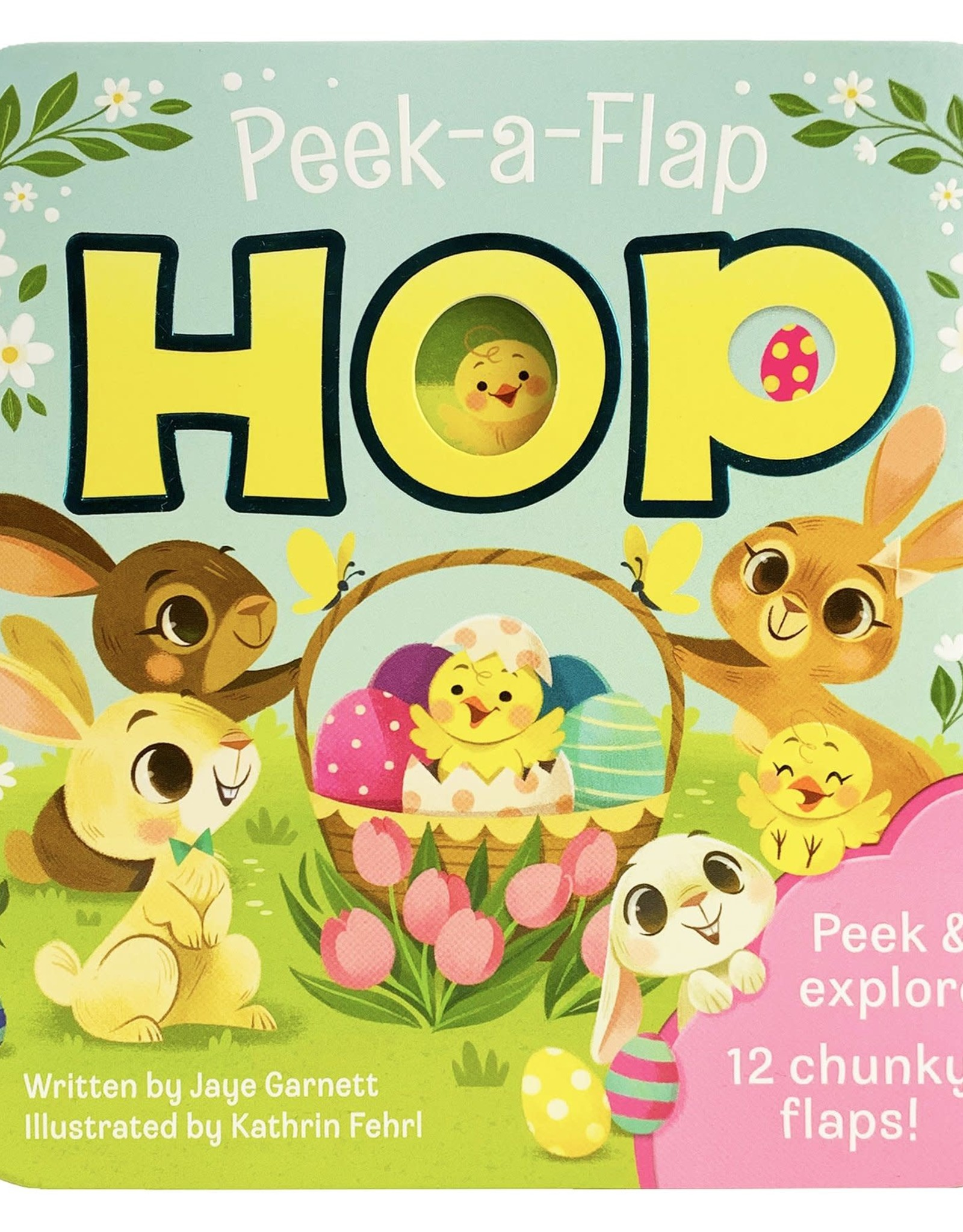Peek-A-Flap Hop board book