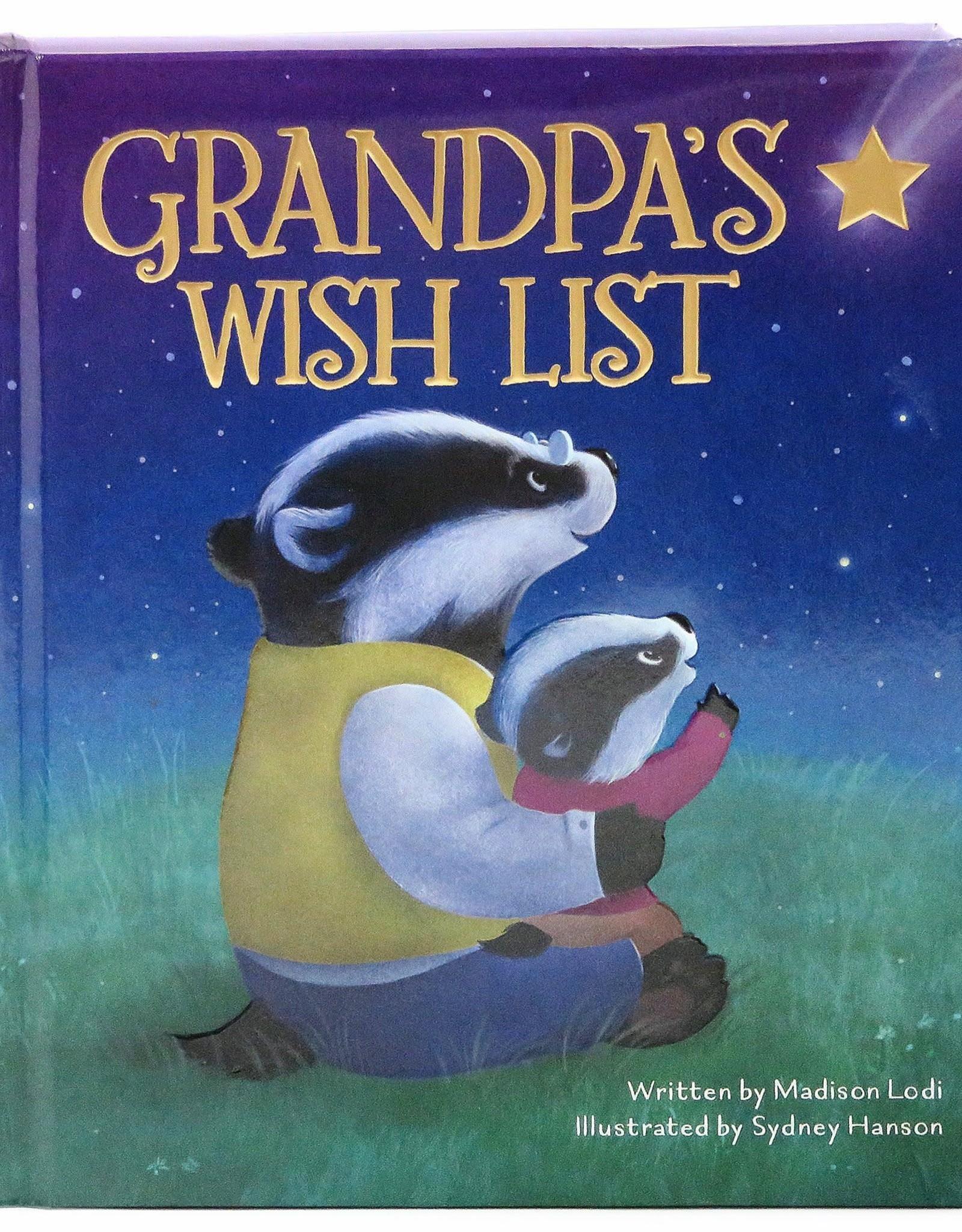 Cottage Door Press Grandpa's Wish List Book