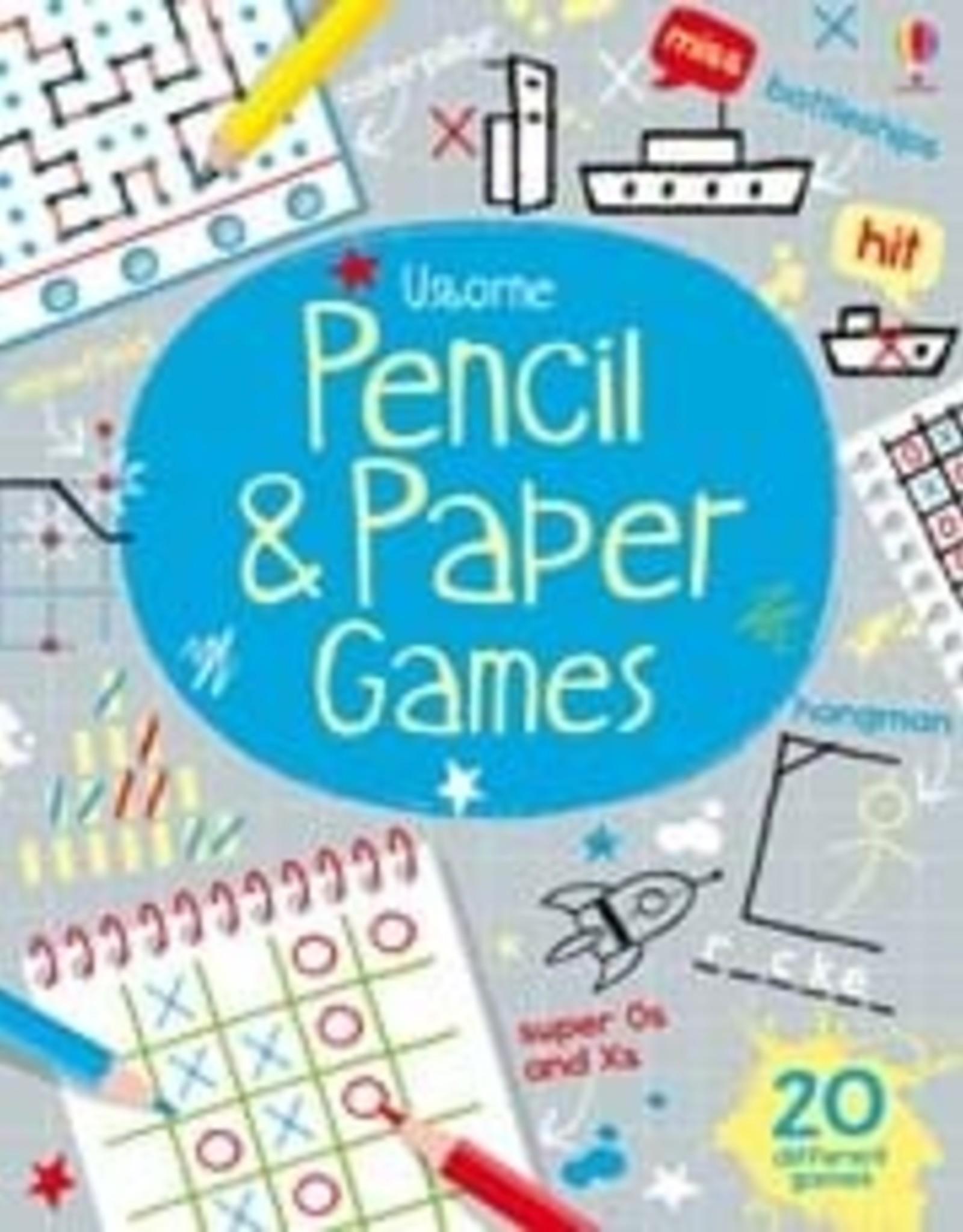 Usborne Pencil & Paper Games
