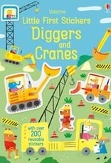 EDC Little Stickers Diggers and Cranes