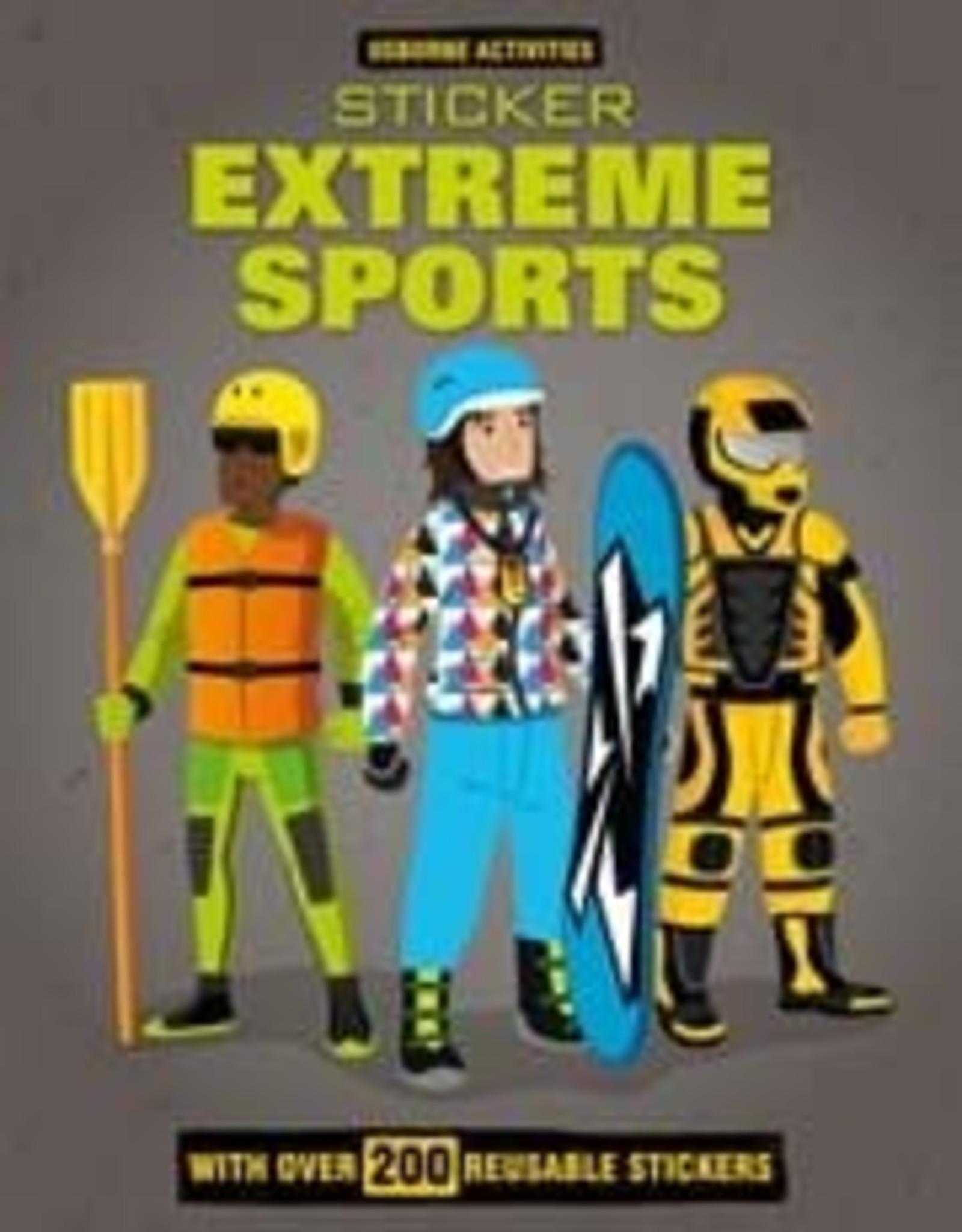 Usborne Extreme Sports Sticker Book