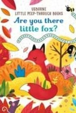 Usborne Are you there little fox? Little Peek-Through Book