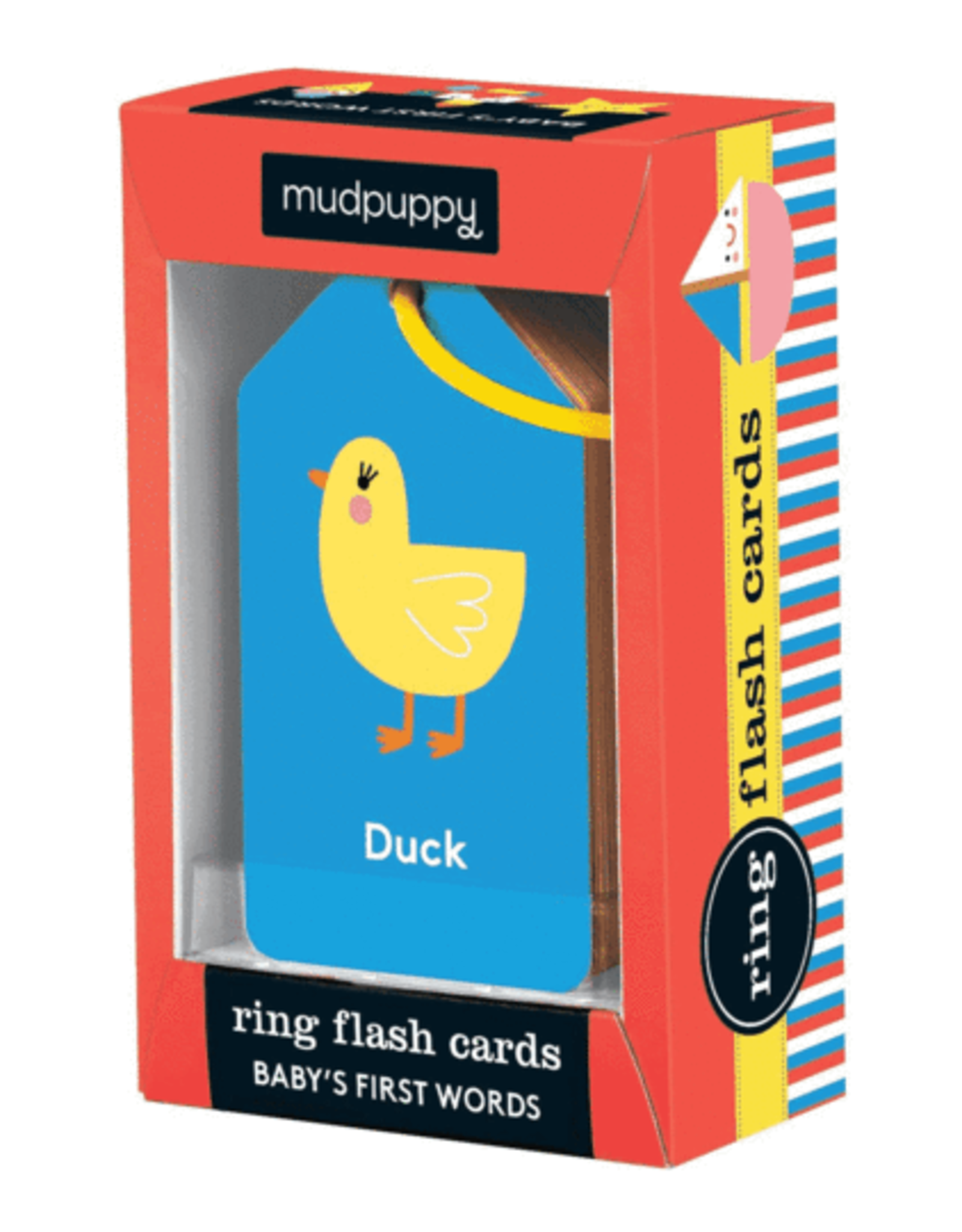 Mudpuppy Flash Card Ring