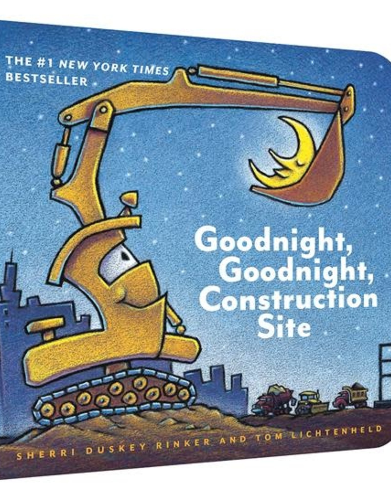 Chronicle Books Board Book Goodnight Goodnight Construction Site