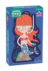 Mudpuppy Mermaid 50 pc Shaped Puzzle
