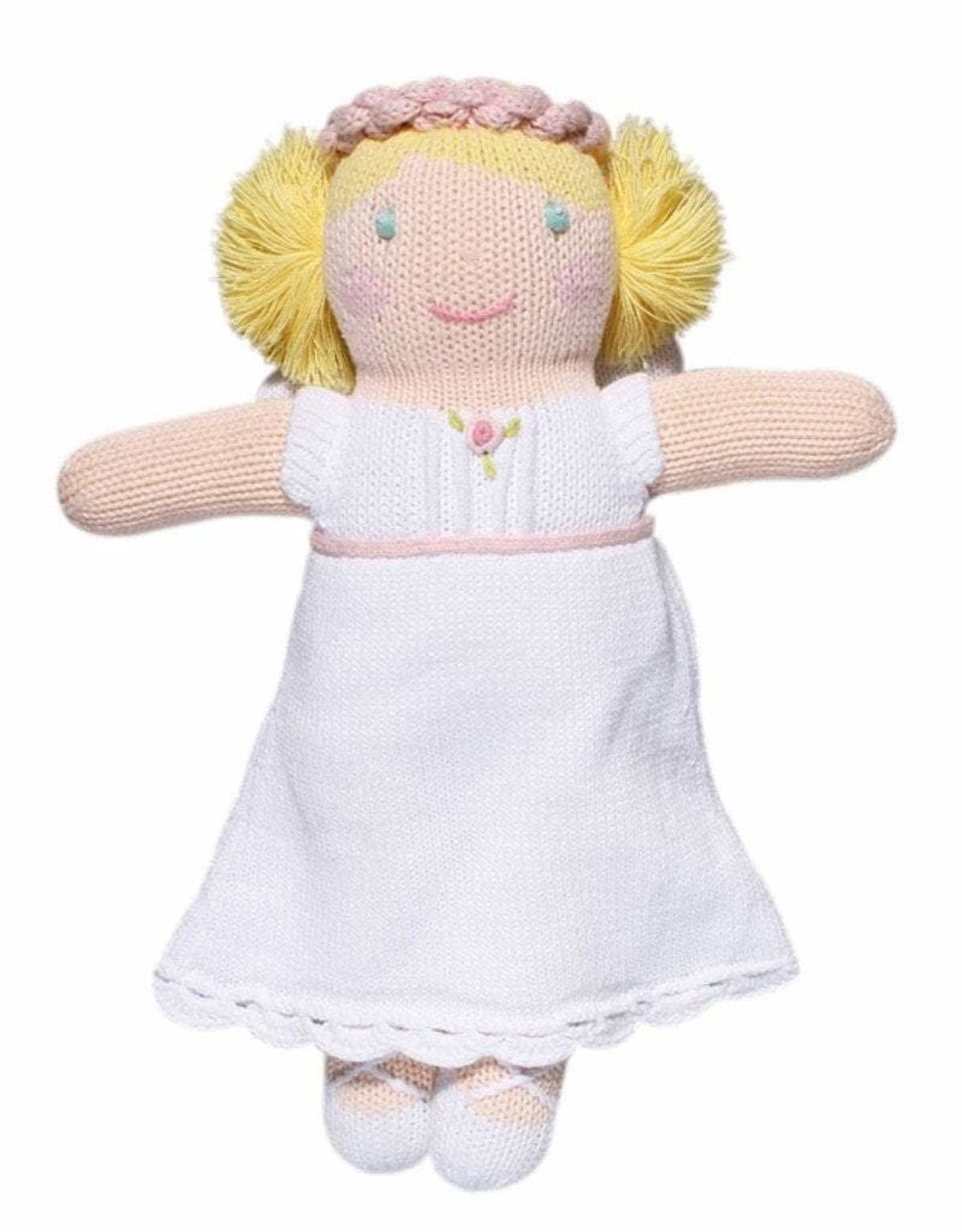 """Zubels Grace the Angel, white, 12"""""""