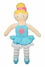 """Zubels Ballerina Zoe, blue, 14"""""""