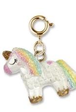 Charm It! Gold Unicorn Pinata Charm