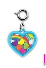 Charm It! Rainbow Heart Charm