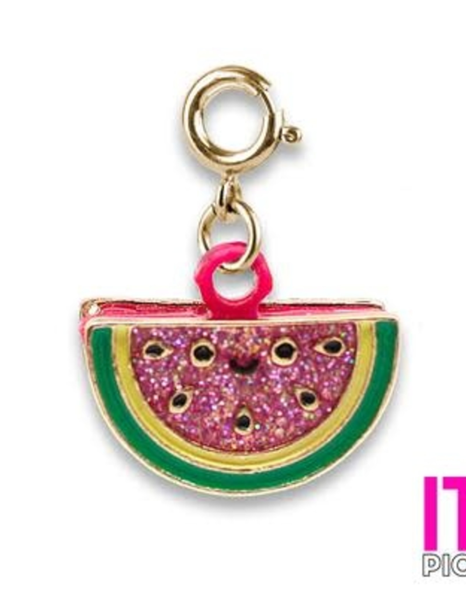 Charm It! Gold Scented Watermelon Charm