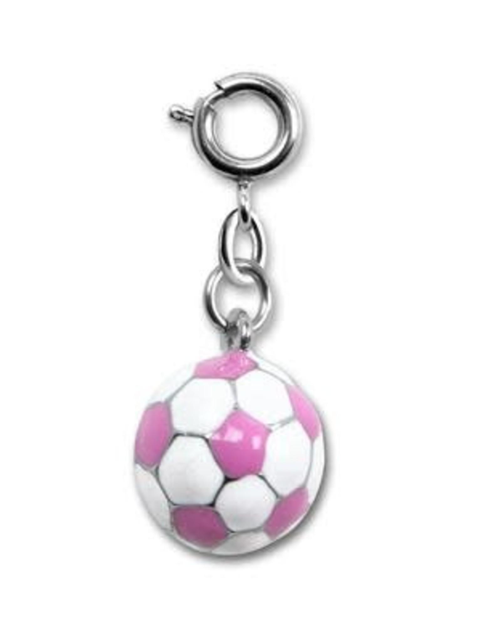 Charm It! Pink Soccer Ball Charm