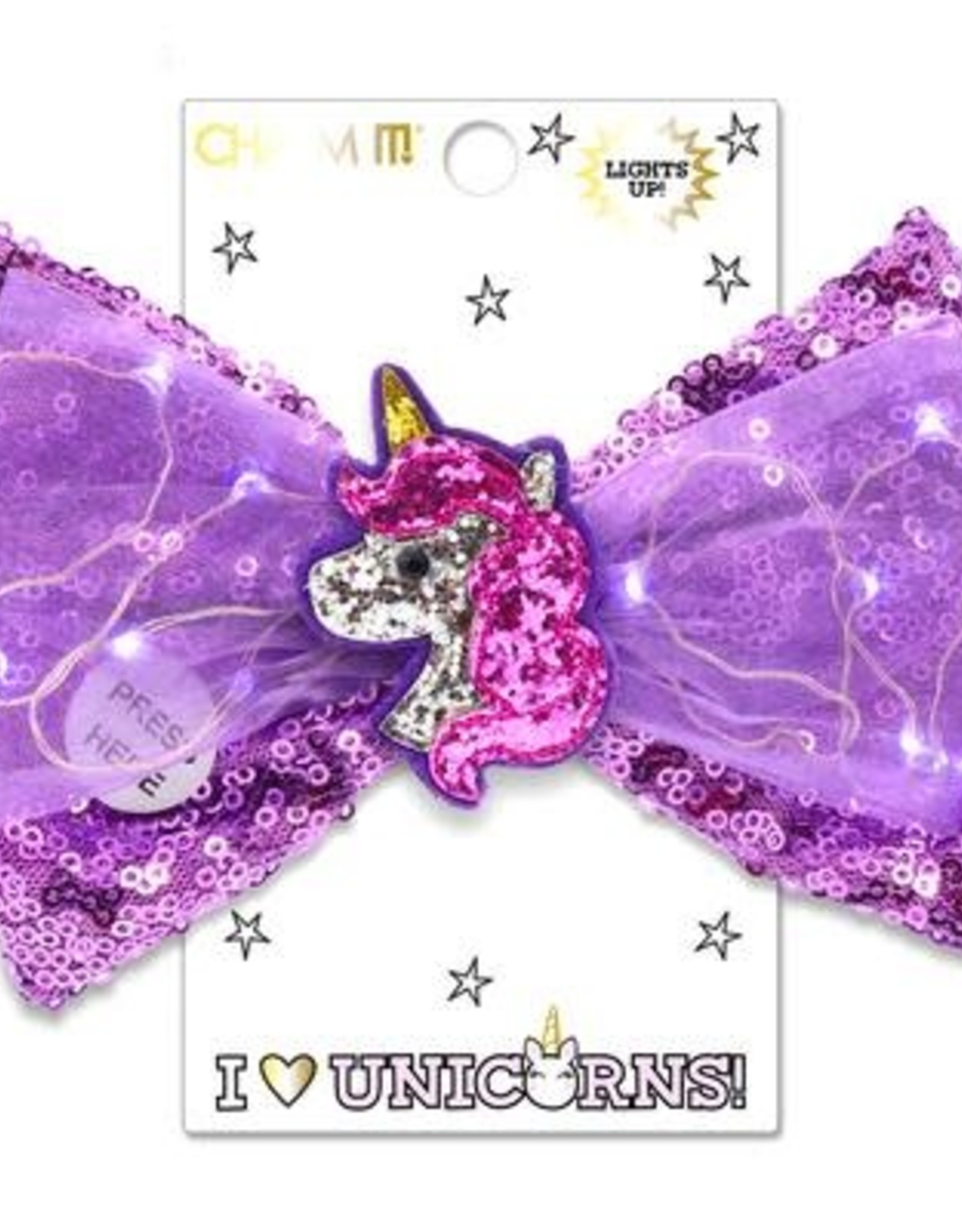 Charm It! Unicorn Light Up Bow