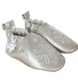 Robeez Soft Sole Metallic Mist