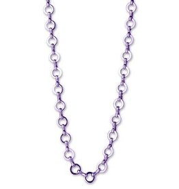 Charm It! Chain Necklace Purple OS