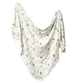 Copper Pearl Swaddle Blanket  Aspen