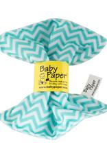 Baby Paper turq zig zag
