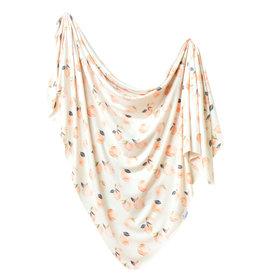 Copper Pearl Swaddle Blanket  Caroline