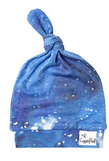 Copper Pearl Top Knot Hat Galaxy