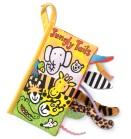 JellyCat Tails Book Jungly Tails