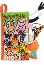 JellyCat Tails Book Farm Tails
