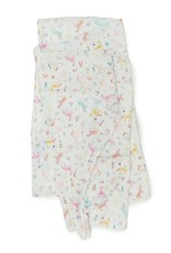 Loulou Lollipop Muslin Swaddle Unicorn Dream