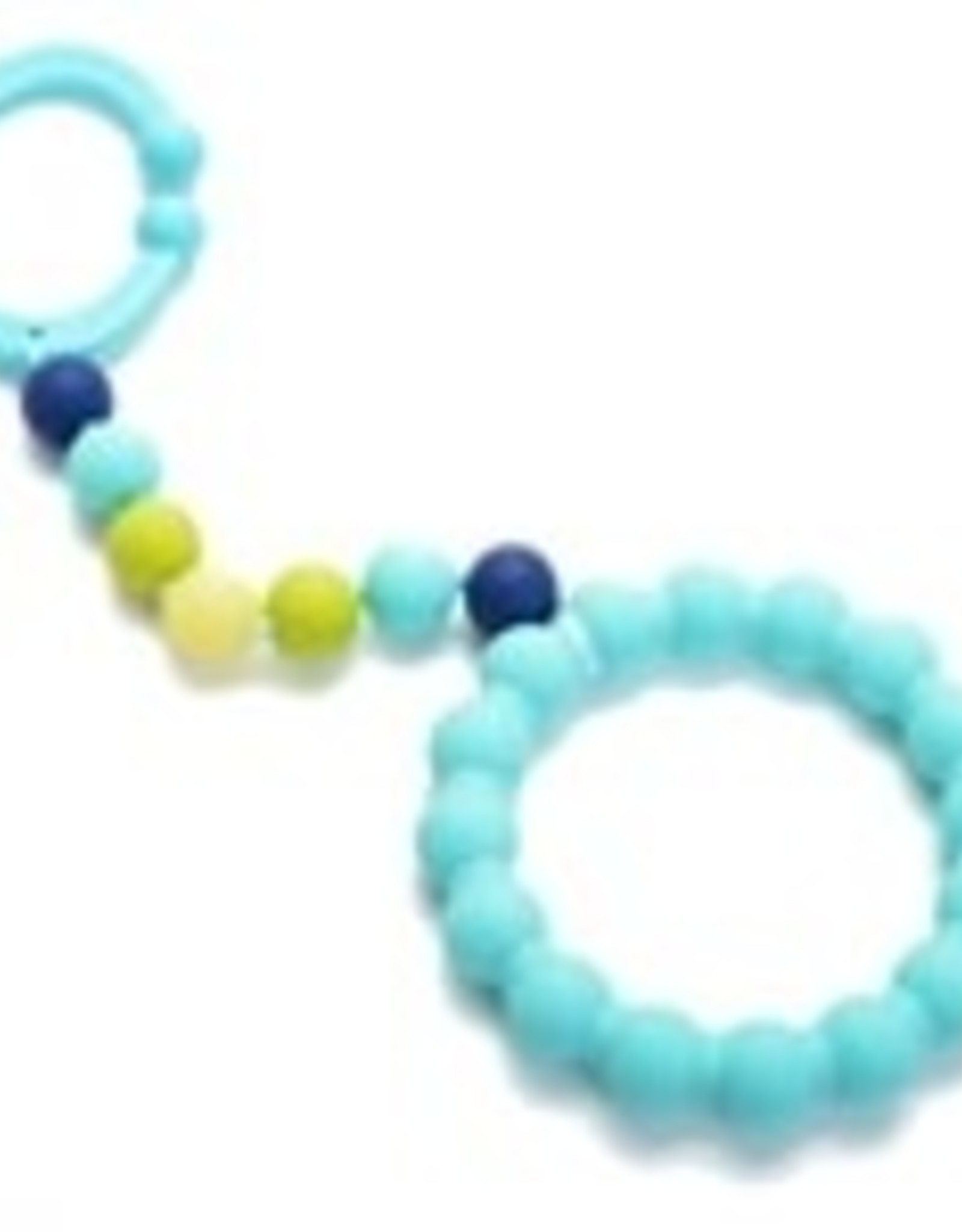 Chewbeads Gramercy Stroller Toy Turquoise