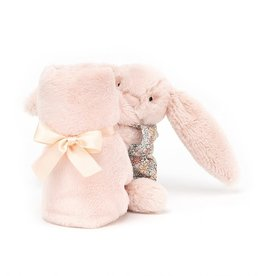 Jellycat Soother Bedtime Blossom Blush Bunny