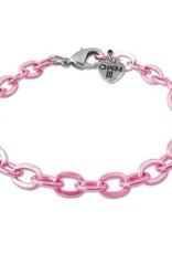 Charm It! Chain Bracelet Pink OS