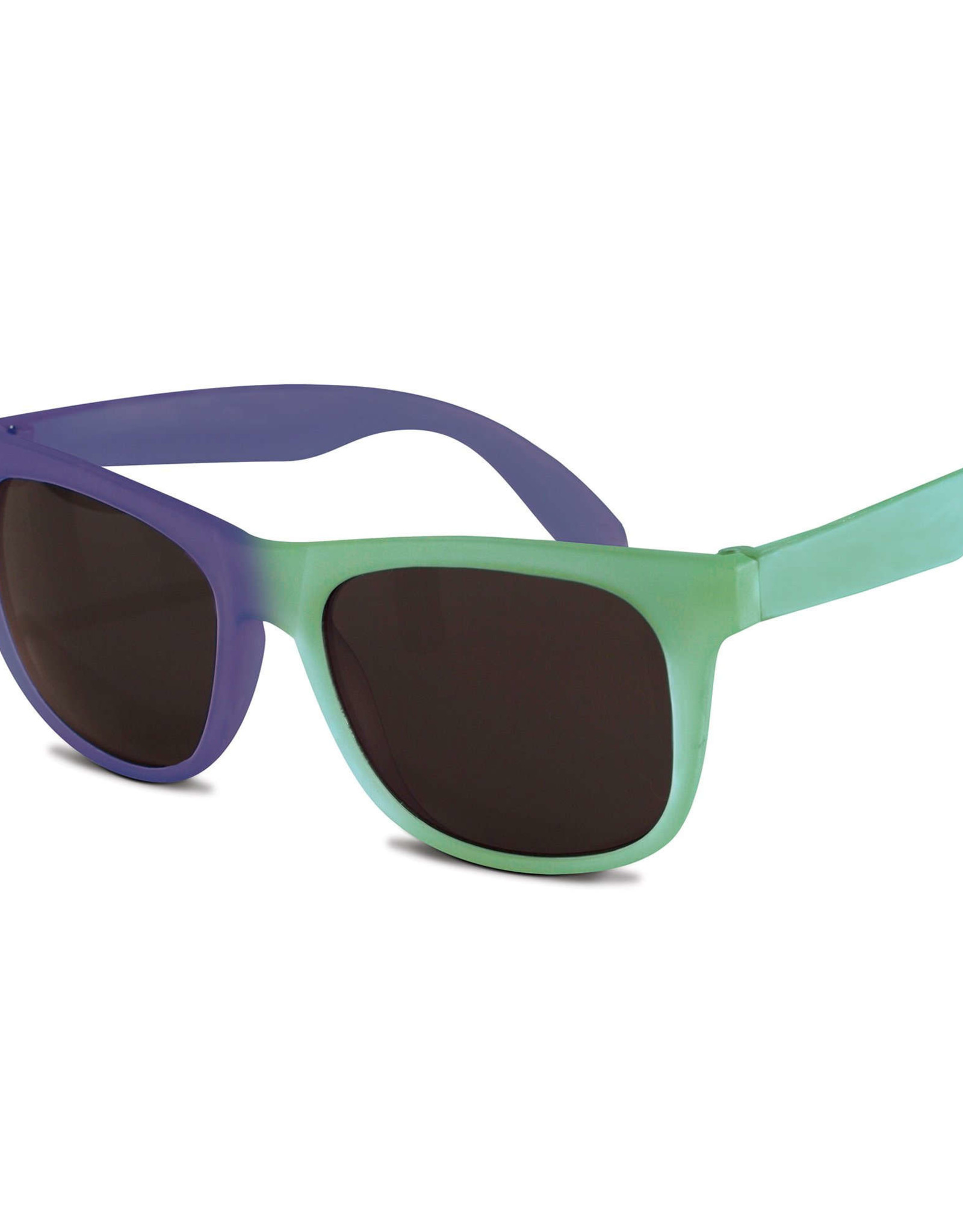 Real Shades Unbreakable Color Changing Sunglasses Green Midnight Blue 2+