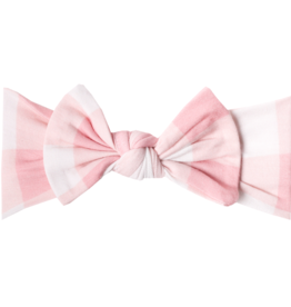 Copper Pearl Knit Headband Bow London