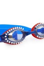 Bling 2O Fish-N-Chips goggles Tiger Shark Navy