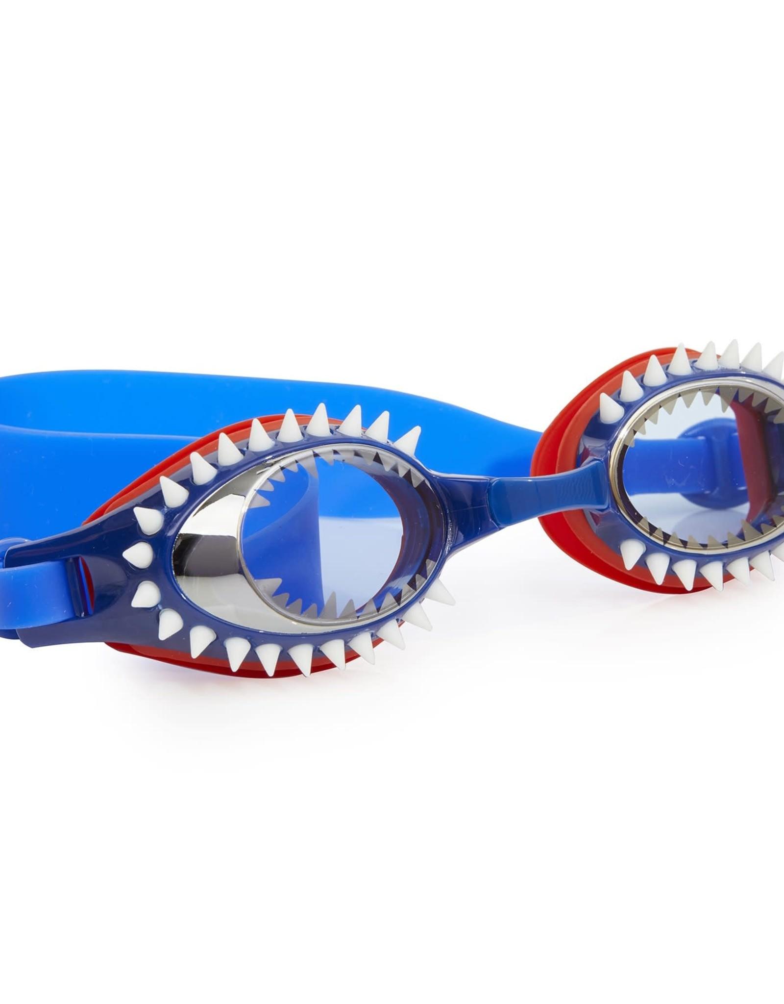 Bling 2O Fish-N-Chips goggles Tiger Shark Navy, 3+
