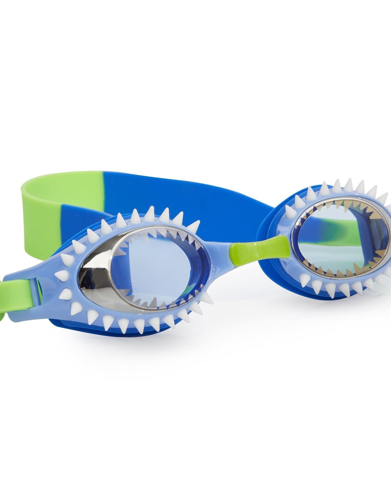 Bling 2O Fish-N-Chips goggles Hammerhead Light Blue