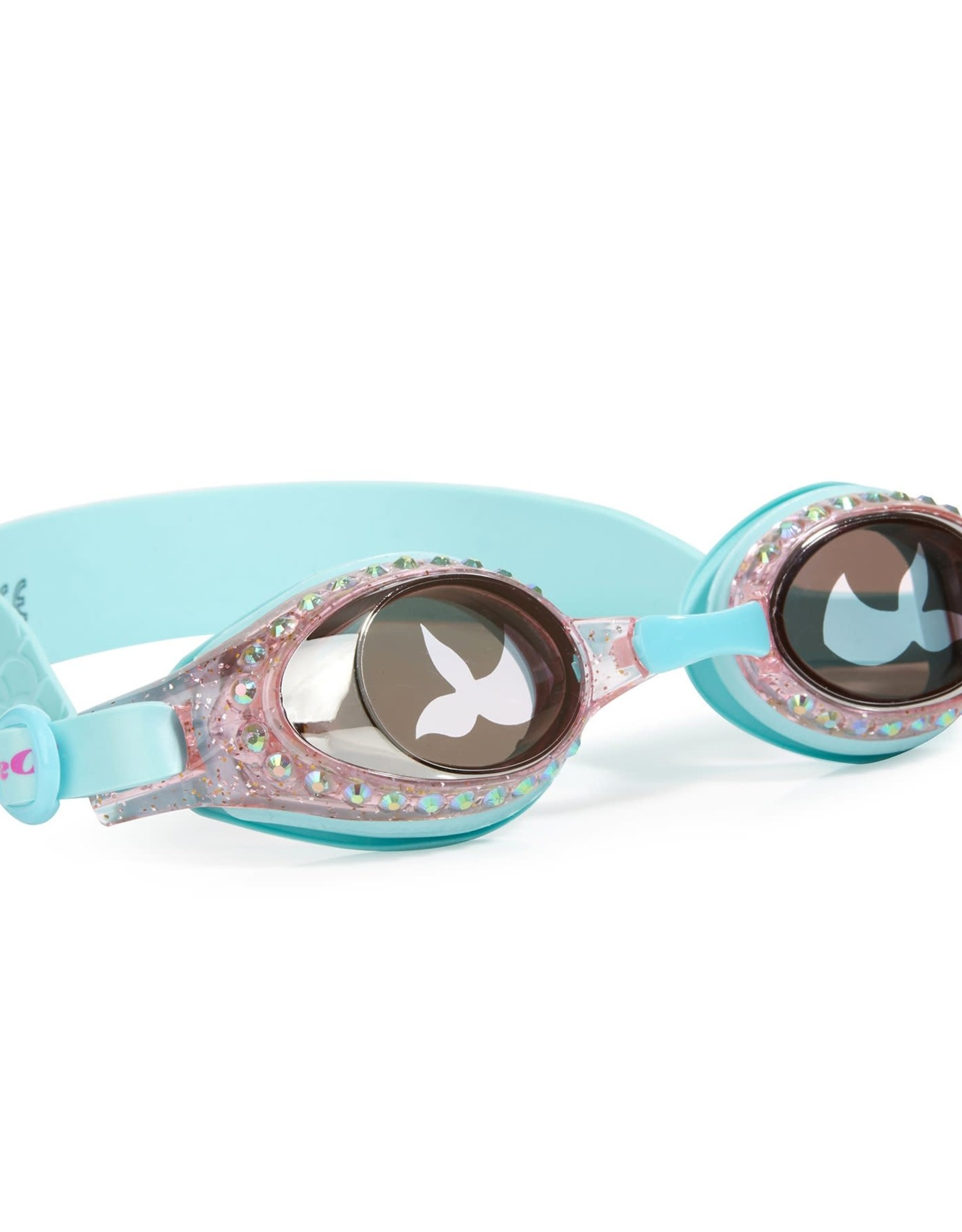 Bling2O Mermaid Swim Goggles blue sushi