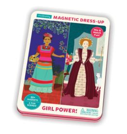 Mudpuppy Magnetic Figures Tin Girl Power