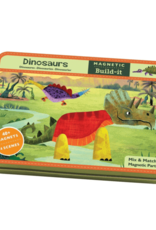 Mudpuppy Magnetic Figures Tin Dinosaur