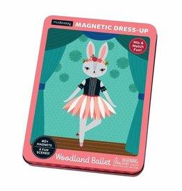 Mudpuppy Magnetic Figures Tin Woodland Ballet