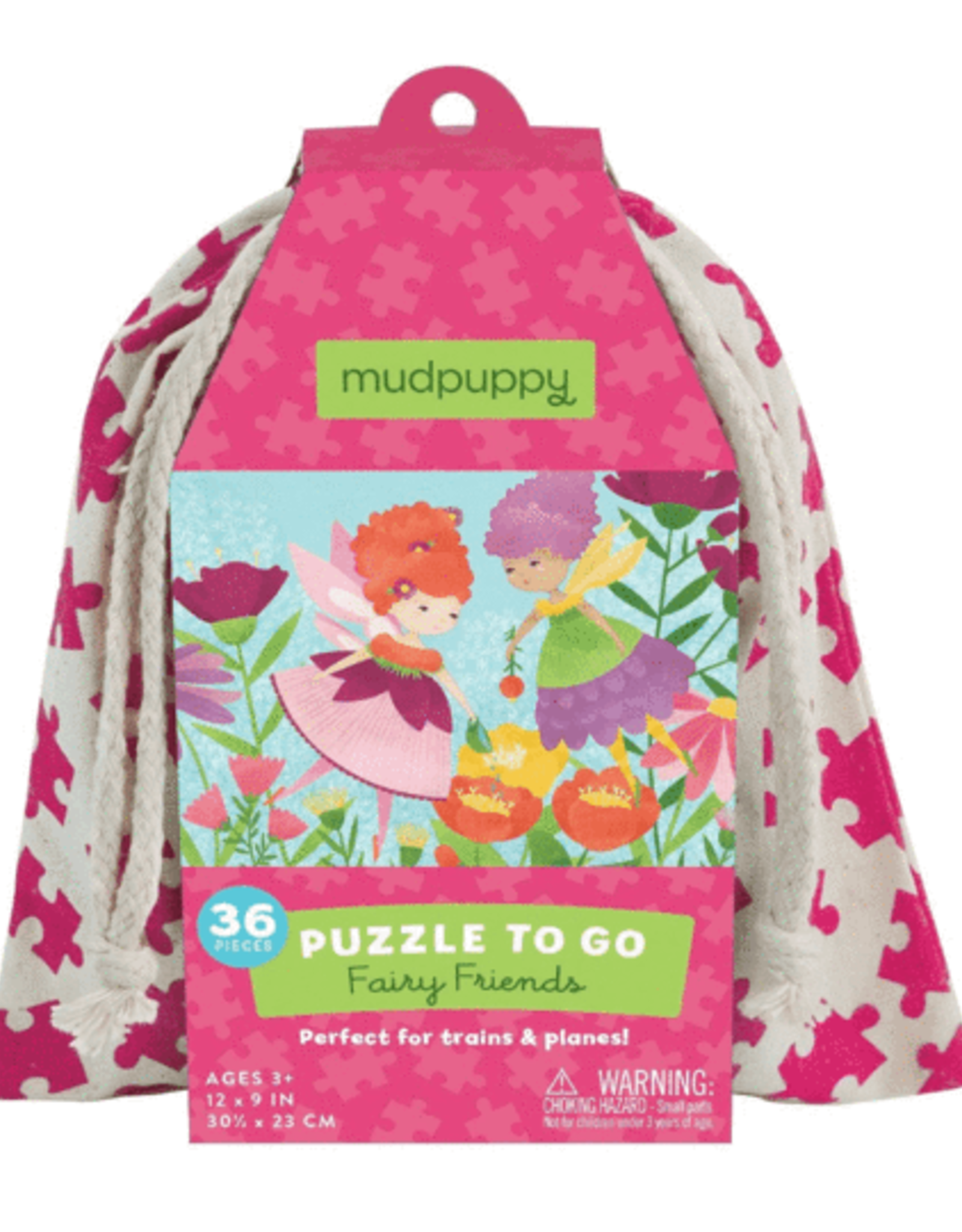 Mudpuppy Puzzle To Go Fairies