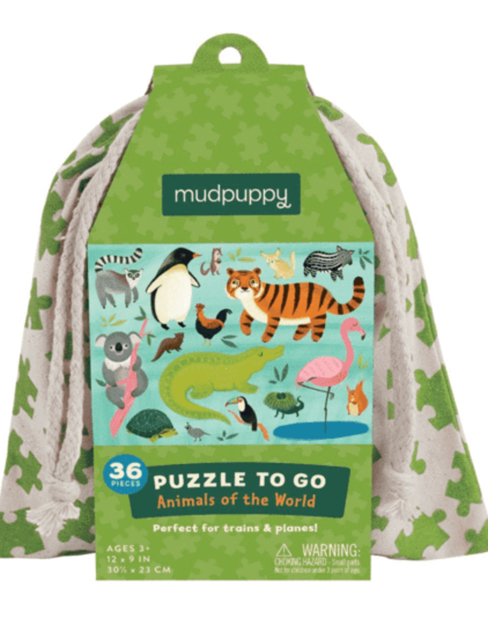 Mudpuppy Puzzle To Go Animals of the World