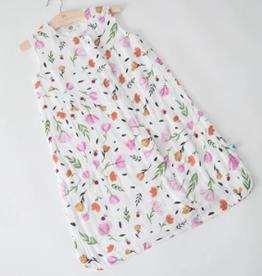 Little Unicorn Sleep Bag Berry Bloom Med (6-12m)