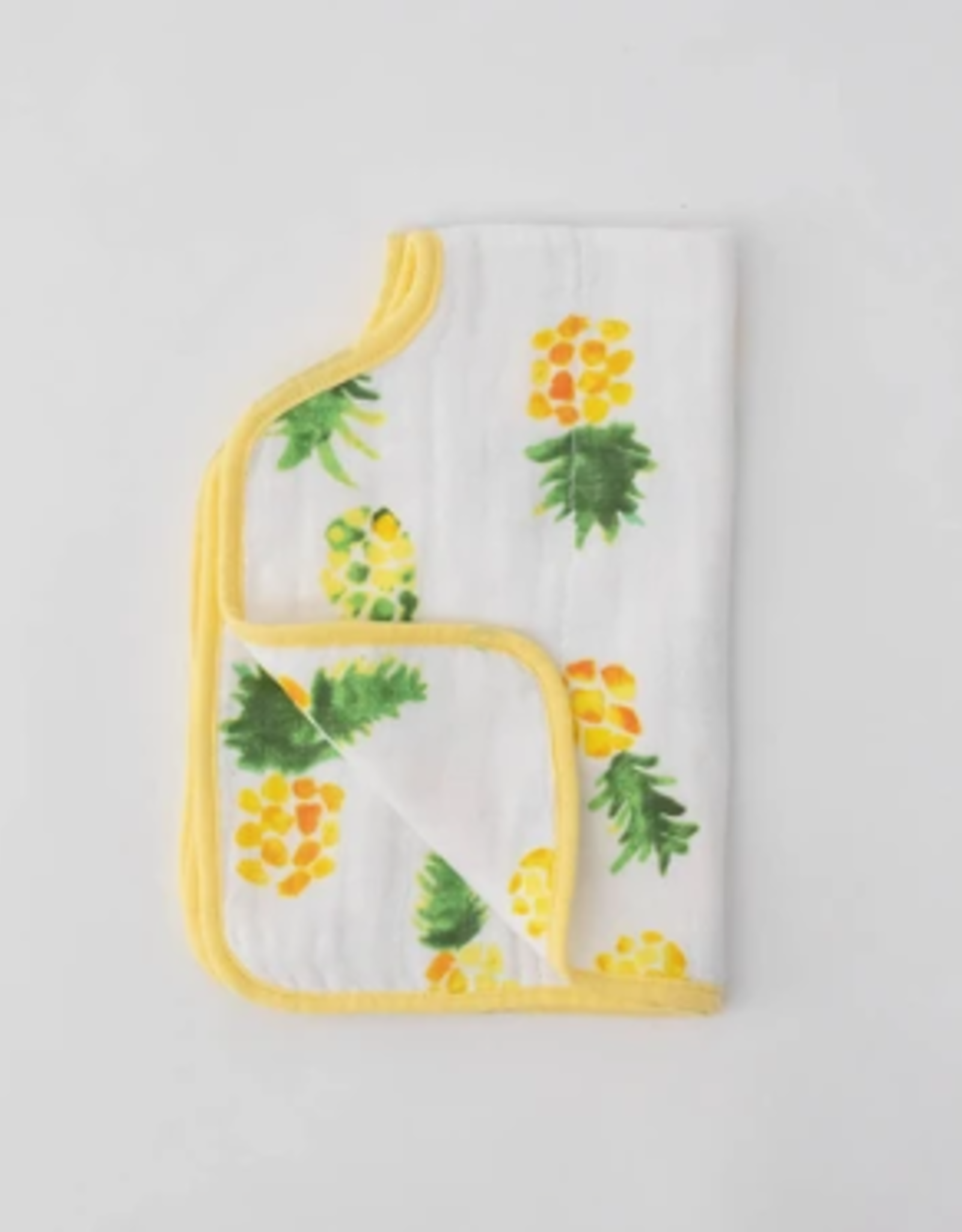 Little Unicorn Burp Cloth Pineapple