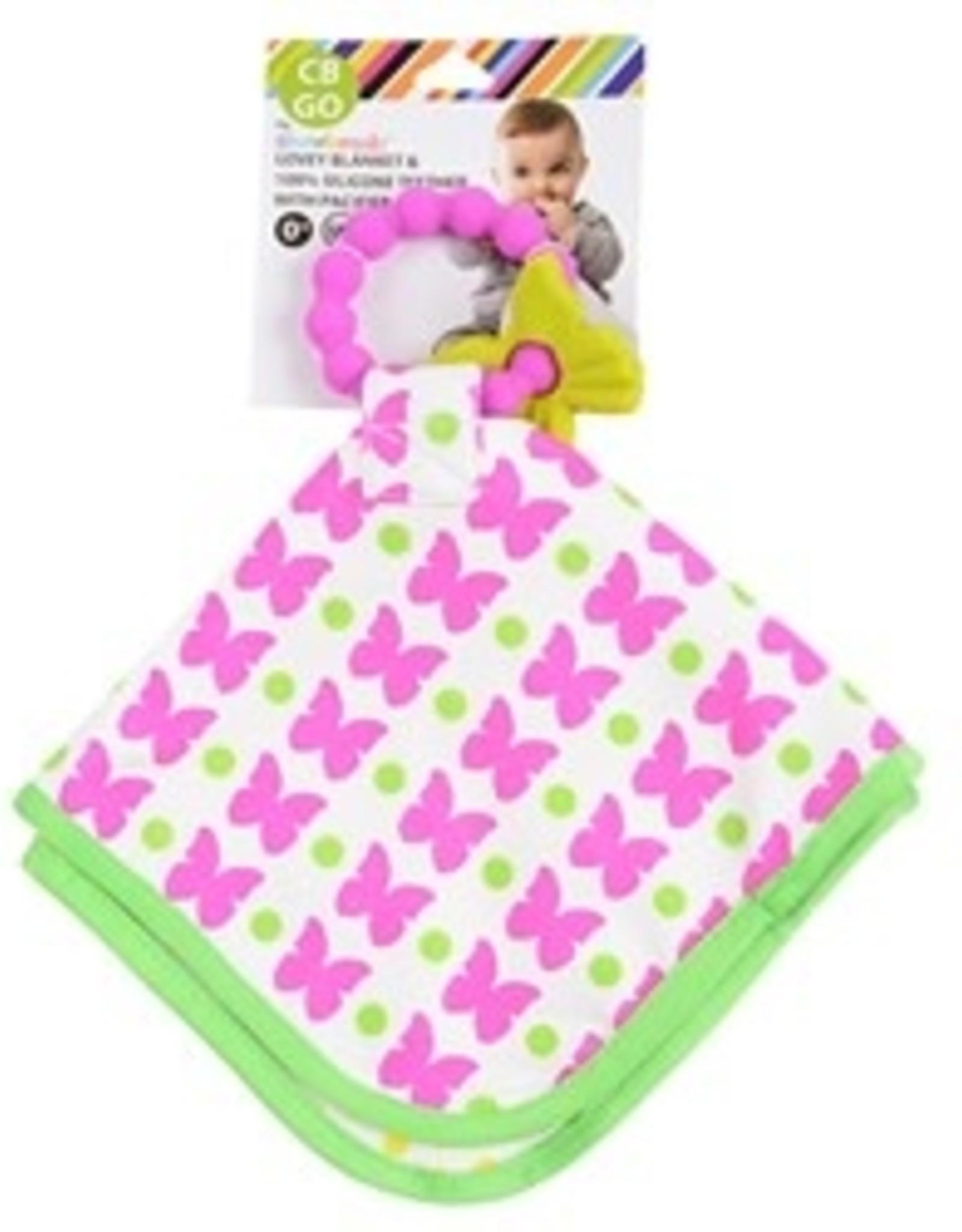 Chewbeads Lovey Blanket Butterfly