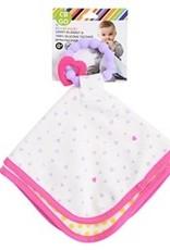 Chewbeads Lovey Blanket violet heart