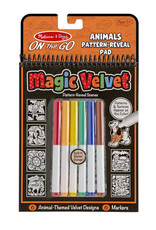 Melissa & Doug OTG Magic Velvet Animals