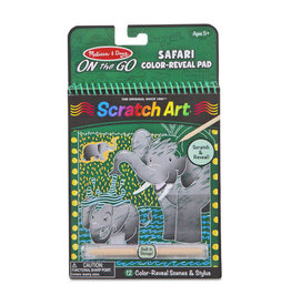 Melissa & Doug OTG Scratch Art Safari Animals