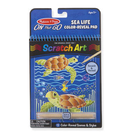 Melissa & Doug OTG Scratch Art Sea Life