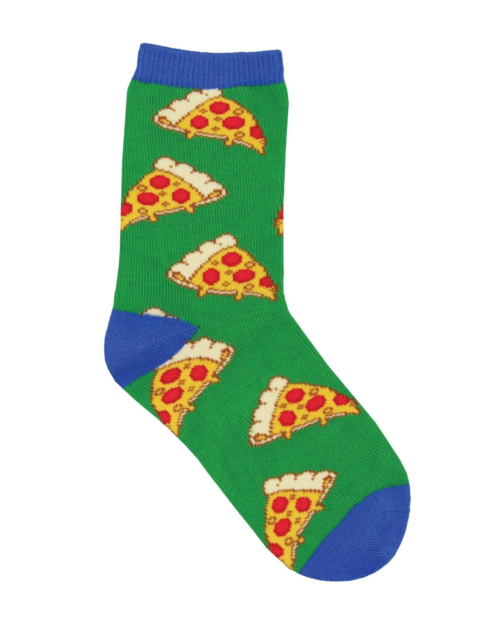 SockSmith Pizza green small