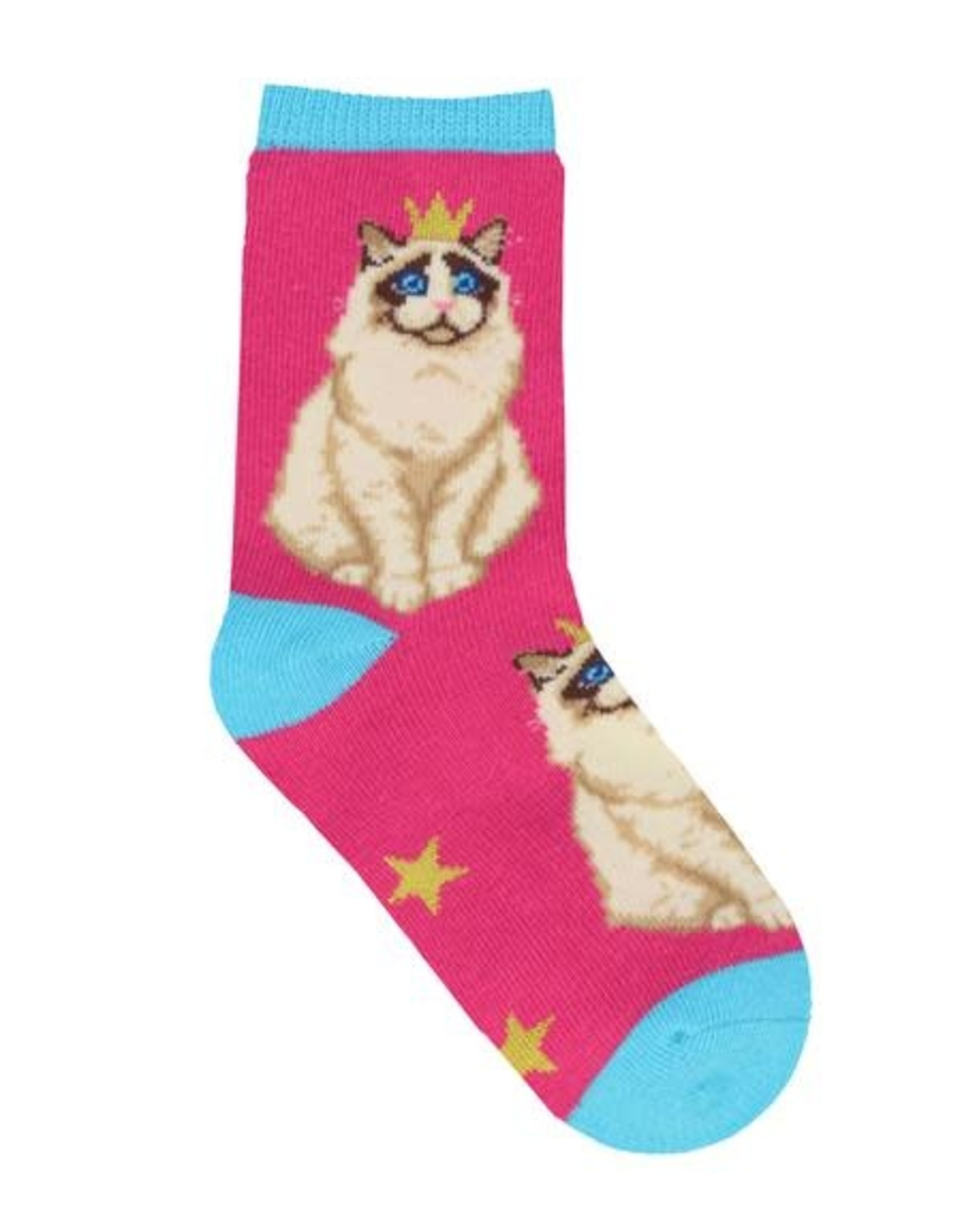 SockSmith Practically Purrfect Multi small